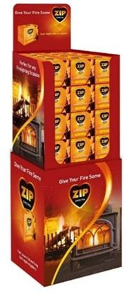 Picture of Zip Firelighters Pack 16 Display Unit of 48