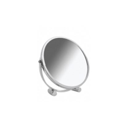 Picture of Blue Canyon Chrome Bullet Stand Desk Mirror Diameter 17cm