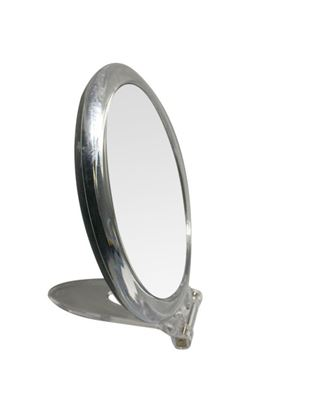 Picture of Blue Canyon Clear Mirror With Stand Round