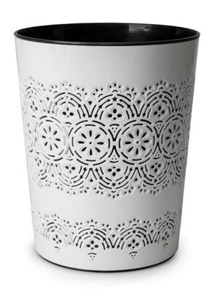 Picture of Blue Canyon Flora Waste Bin White