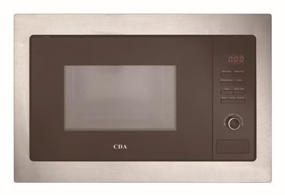 Picture of CDA Built In Stainless Steel Microwave 900w