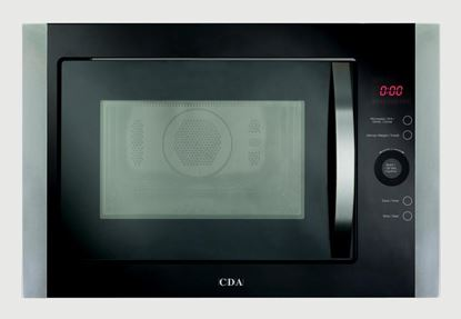 Picture of CDA Built In Stainless Steel Microwave Grill Oven 900w