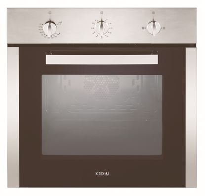 Picture of CDA Stainless Steel Single Gas Fan Oven