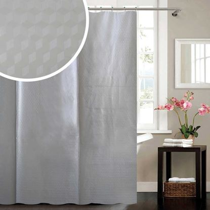 Picture of Blue Canyon Cube Peva Shower Curtain