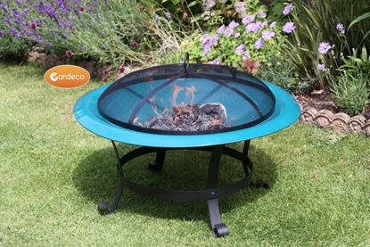 Picture of Gardeco Fire Bowl Green