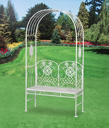 Picture of Pagoda Amalfi Garden Bench with Arch