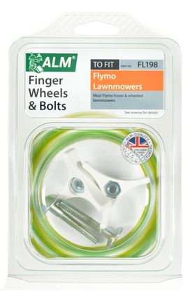 Picture of ALM Handle Finger Wheels  Bolts