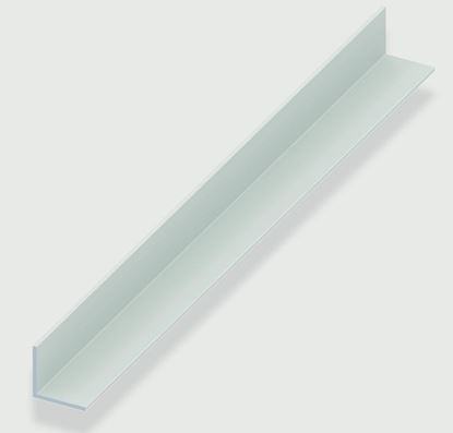 Picture of Rothley Angle Equal Sided - White Plastic 20mm x 20mm x 1.5mm x 2m