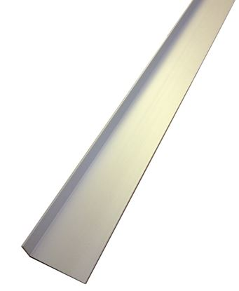 Picture of Rothley Angle Unequal Sided - Anodised Alumium - Silver 40mm x 15mm x 2mmx 2m