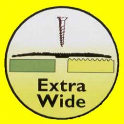 Picture of Extra Wide Cover Gold 813mm Joint Strip