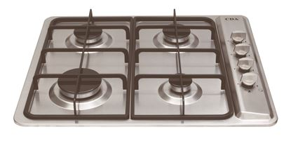 Picture of CDA Four Burner Gas Hob Stainless Steel