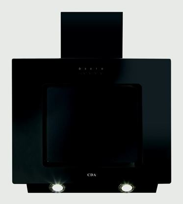Picture of CDA Vertical Angled Cooker Hood 2 x 2w LED