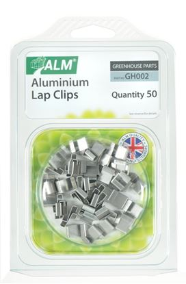 Picture of ALM Aluminium Lap Clips Pack of 50