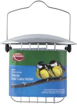 Picture of Ambassador Wild Birds Deluxe Suet Cake Holder