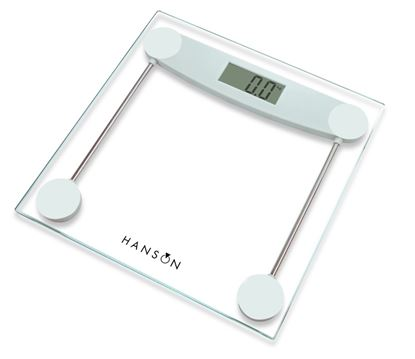 Picture of Hanson Glass Electronic Bathroom Scale Clear 150kg