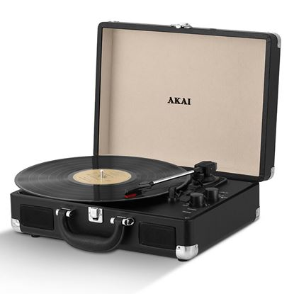 Picture of Akai Bluetooth Turntable Black
