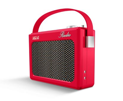 Picture of Akai Dab Radio Red