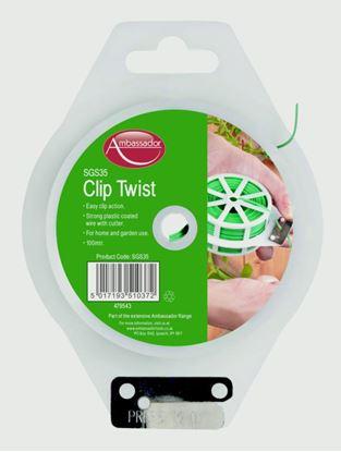 Picture of Ambassador Clip Twist 100 metre