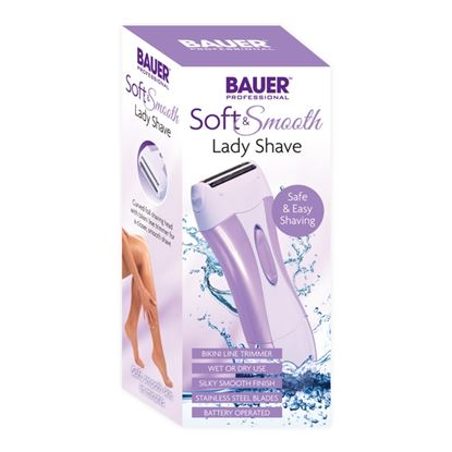 Picture of Bauer Soft and Smooth lady shave Battery operated