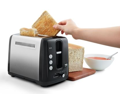 Picture of Beko Traditional 2 Slice Toaster Black