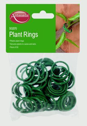 Picture of Ambassador Plastic Plant Rings