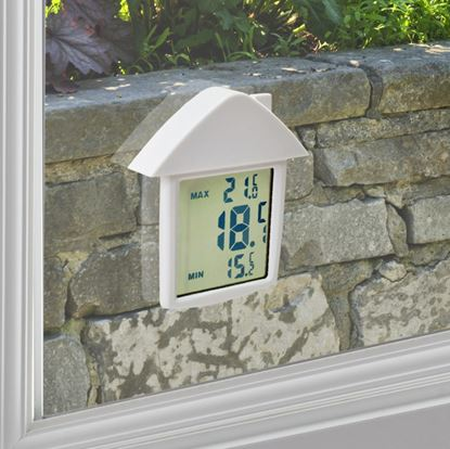 Picture of Ambassador Digital Window Thermometer