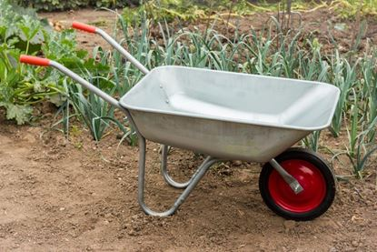 Picture of Ambassador Boxed Galvanised Wheelbarrow 80L