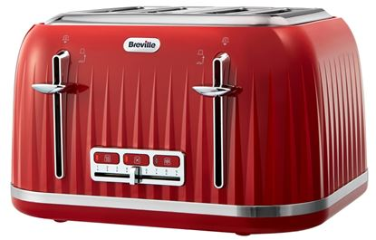 Picture of Breville Impressions 4 Slice Toaster Red