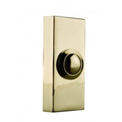 Picture of Byron 2204 Wired Doorbell Additional Chime Bell Push Brass