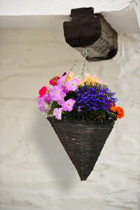 Picture of Ambassador Willow Hanging Cone Basket 14