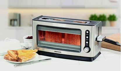 Picture of Daewoo Glass Toaster 1500w
