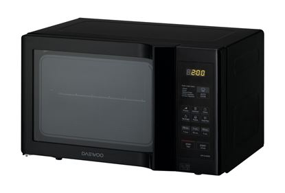Picture of Daewoo Black Digital Touch Microwave 20L