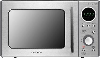 Picture of Daewoo TouchDial Microwave Stainless Steel