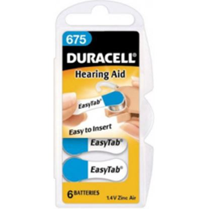 Picture of Duracell Hearing Aid Battery - 675 Pack 6