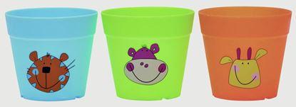 Picture of Briers Kids Jungle Plastic Pots