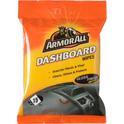 Picture of Armor All Dashboard Wipes Gloss Finish - Pack of 15