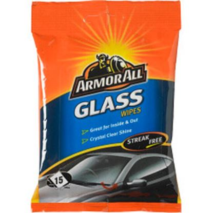 Picture of Armor All Glass Wipes Pack of 15