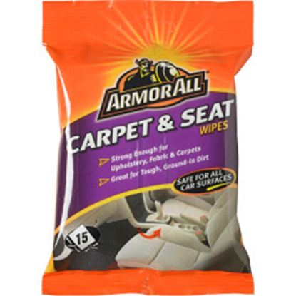 Picture of Armor All Carpet  Seat Wipes Pack of 15
