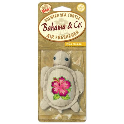 Picture of Bahama  Co Scented Plush Turtle Pina Colada