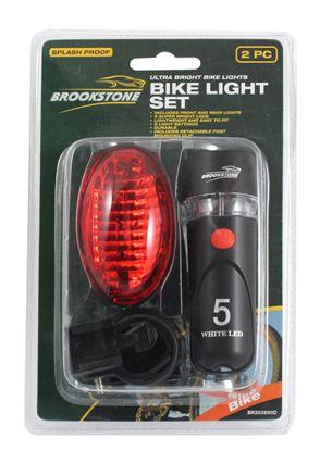 Picture of Brookstone Bike Light Set 2 Piece