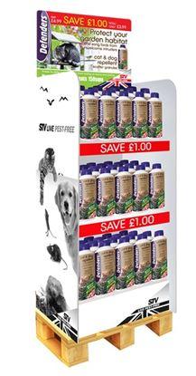 Picture of Defenders BDU001 Cat Dog Repeller Granules Display Unit