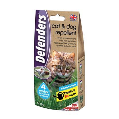 Picture of Defenders Cat  Dog Repellent 4 x 25g
