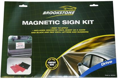 Picture of Brookstone Drive Magnetic Sign Kit