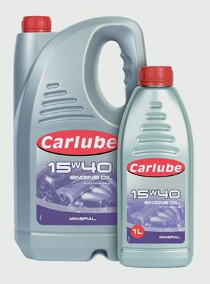 Picture of Carlube 15W-40 Mineral Engine Oil 1L