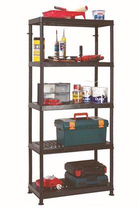 Picture of Garland 5 Shelf Unit Ventilated 80cm