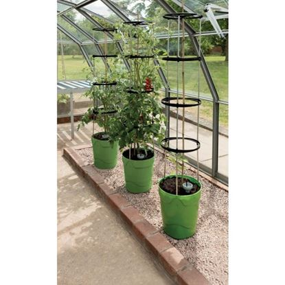 Picture of Garland Self Watering Grow Pot Tower Green