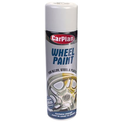 Picture of Carplan Wheel Paint Bright Silver 500ml