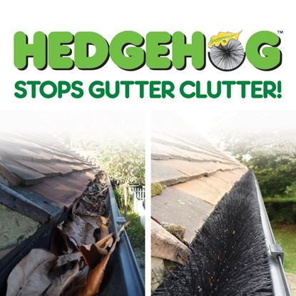 Picture of Easy Innovations Hedgehog Gutter Brush 4m x 100mm