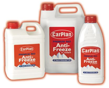 Picture of Carplan Premium Red Anti-Freeze 5L