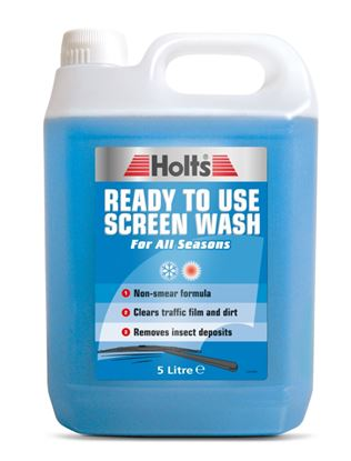 Picture of Holts Ready to Use Screen Wash 5L